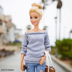 walking barbie