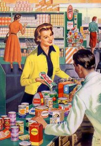 vintage shopping 2