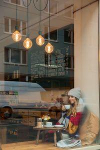 sitting cafe